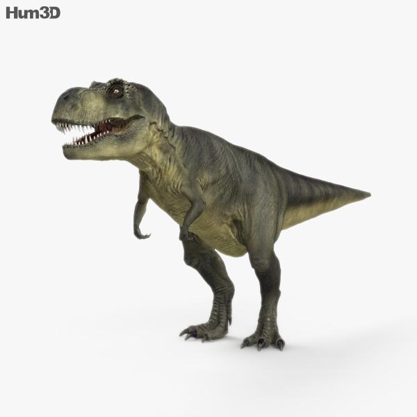 Tyrannosaurus Rex HD 3D model