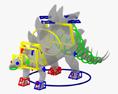 Stegosaurus HD 3d model