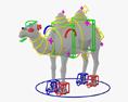 Camel HD 3d model
