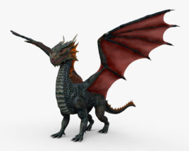 3D model of European Dragon