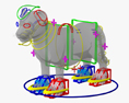 Lion Cub HD 3d model
