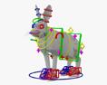 Arctic Hare HD 3d model