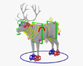 Reindeer HD 3d model
