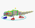 Common Lizard HD 3d model