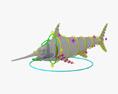 Swordfish HD 3d model