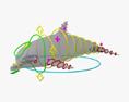 Common Bottlenose Dolphin HD 3d model