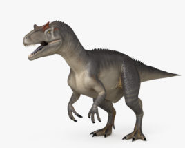 3D model of Allosaurus HD