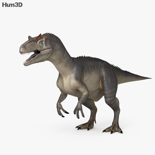 Allosaurus HD 3D model