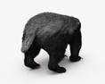 Honey Badger HD 3d model