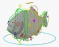Piranha Modelo 3d