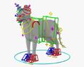 Sphynx Cat HD 3d model
