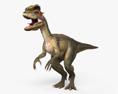 Dilophosaurus HD 3d model
