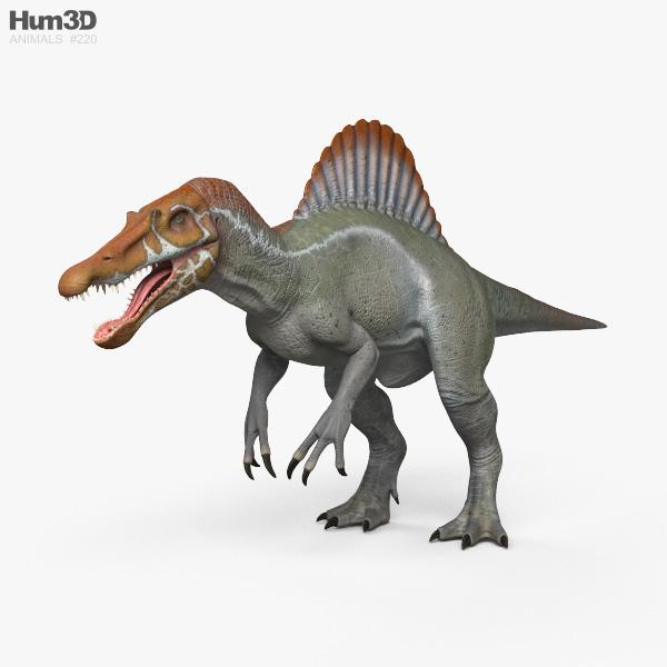 Spinosaurus HD 3D model