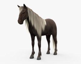 Rocky Mountain Horse HD 3D model