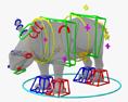 Rhinoceros Cub HD 3d model