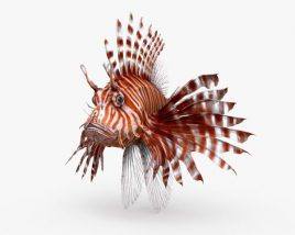 3D model of Lionfish HD
