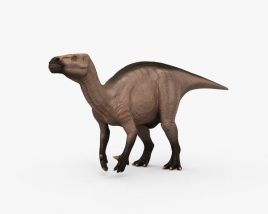 Iguanodon HD 3D model