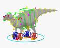 Iguanodon HD 3d model