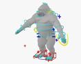 Gorilla HD 3d model