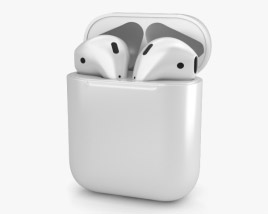 3D model of Apple AirPods