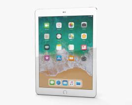 Apple iPad 9.7-inch (2018) Cellular Silver 3D model