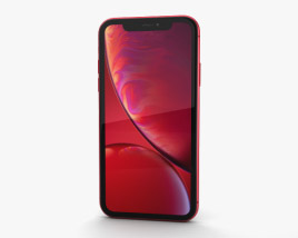 3D model of Apple iPhone XR Red