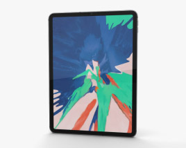 Apple iPad Pro 11-inch (2018) Space Gray 3D model