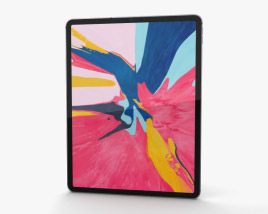 Apple iPad Pro 12.9-inch (2018) Space Gray 3D model