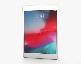 3D model of Apple iPad mini (2019) Gold