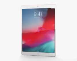 3D model of Apple iPad Air (2019) Cellular Gold