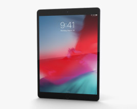 3D model of Apple iPad Air (2019) Cellular Space Gray