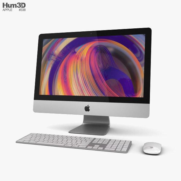 Apple iMac 21.5-inch (2019) 3D model