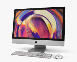 3D model of Apple iMac 27 (2019)