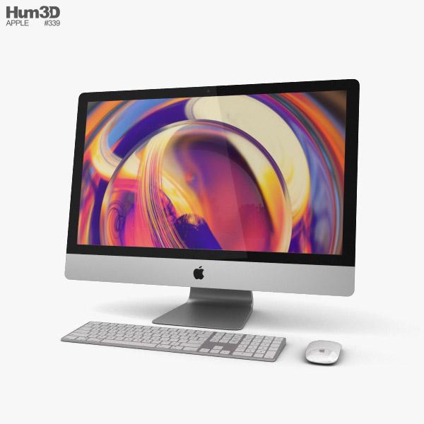 Apple iMac 27 (2019) 3D model