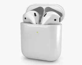 3D model of Apple AirPods 2nd gen