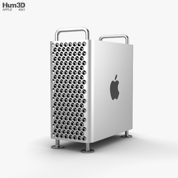 Apple Mac Pro 2019 3D model