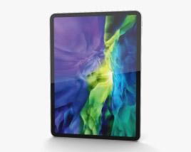Apple iPad Pro 11-inch (2020) Silver 3D model