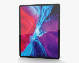 Apple iPad Pro 12.9-inch (2020) Silver 3D model