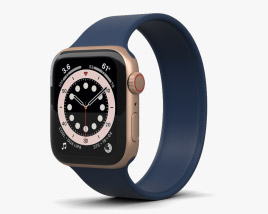 Apple Watch Series 6 40mm Aluminum Gold 3D model