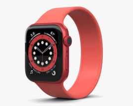 3D model of Apple Watch Series 6 40mm Aluminum Red