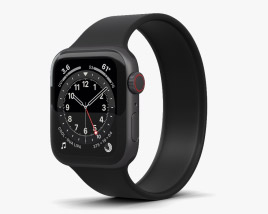 3D model of Apple Watch Series 6 40mm Aluminum Space Gray