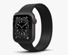 Apple Watch Series 6 40mm Aluminum Space Gray 3D model