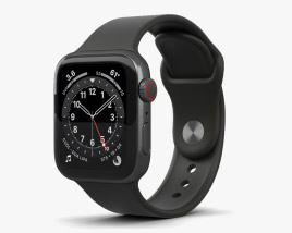 Apple Watch Series 6 40mm Stainless Steel Graphite 3D model