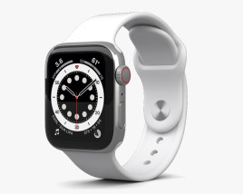 Apple Watch Series 6 40mm Stainless Steel Silver 3D model