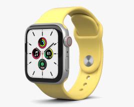 Apple Watch SE 40mm Aluminum Silver 3D model