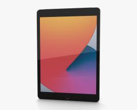 Apple iPad 10.2 (2020) Cellular Space Gray 3D model