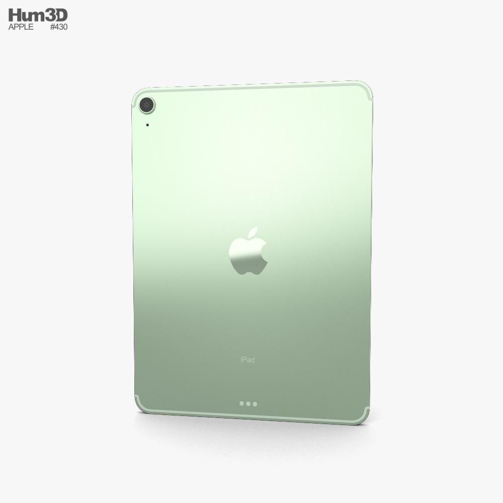 Apple iPad Air 2020 Cellular Green 3d model