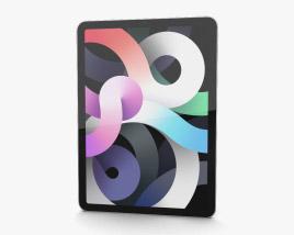 Apple iPad Air 2020 Cellular Silver 3D model