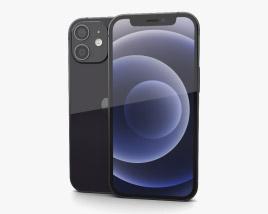 Apple iPhone 12 mini Black 3D model