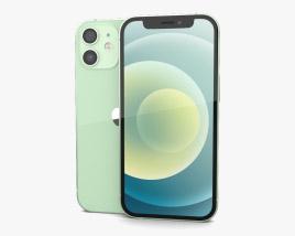 3D model of Apple iPhone 12 mini Green